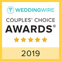 2019 Wedding Wire Couples' Choice Awards logo